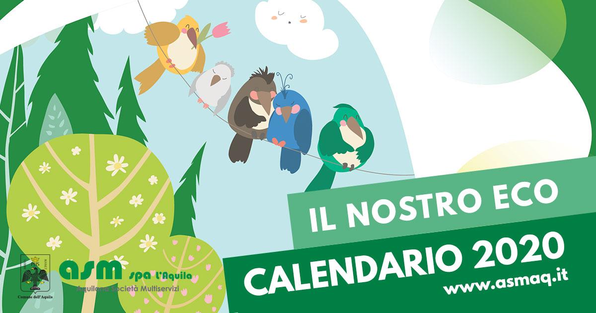 Eco Calendario Raccolta Differenziata   ASM spa L'Aquila